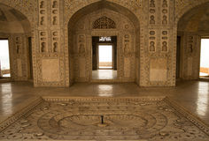 Red Fort interior Royalty Free Stock Image