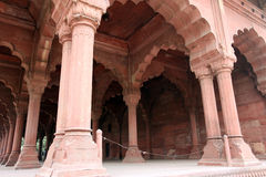 Red Fort (Lal Qil'ah) in Delhi Royalty Free Stock Photo