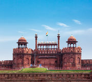 Red Fort (Lal Qila). Delhi, India Stock Image