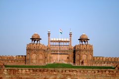 Red Fort, New Delhi Royalty Free Stock Photos