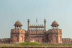 Red Fort, New Delhi. The entrance to the Red fort in New Delhi India Stock Image