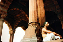 Red Fort - New Delhi - India Royalty Free Stock Photo