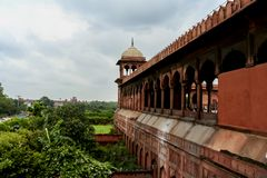 Red fort in New Delhi, India Royalty Free Stock Photos