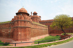 Red Fort. New Delhi, India. Royalty Free Stock Images