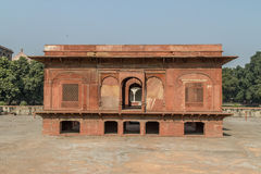 Red Fort New Delhi. A minor building in the Red Fort Royalty Free Stock Image