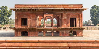 Red Fort New Delhi. A minor building in the Red For at New Delhi India Stock Photos