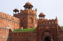 Red Fort in Old Delhi, India Royalty Free Stock Image