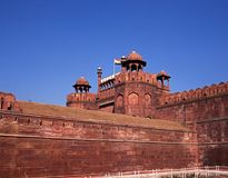 The Red Fort, Old Delhi, India. Royalty Free Stock Image
