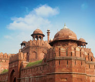 The Red Fort outside view Stock Photography