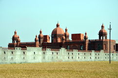 Red Fort in Punjab. Fort in the state of Punjab, India Royalty Free Stock Photos
