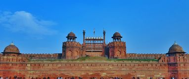 Red fort stock images