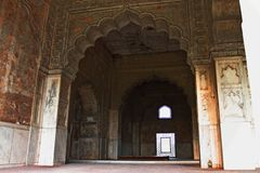 The Red Fort wall decoration Royalty Free Stock Photography