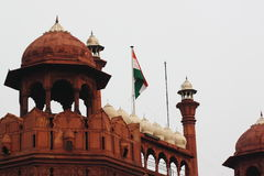 The Red Fort: Royalty Free Stock Photography