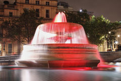 Red fountain Stock Photography