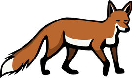 Red Fox. Illustration of a red fox Royalty Free Stock Photo