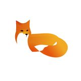 Red Fox in Vector Style Royalty Free Stock Photo