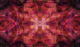 Red fractal pattern Royalty Free Stock Photo