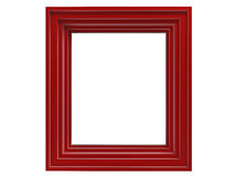 Red frame Royalty Free Stock Photos