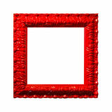 Red frame Stock Images