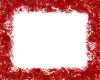 Red frame Stock Photography
