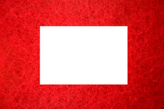 Red frame Stock Photo