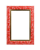 Red frame isolated Royalty Free Stock Photo