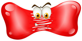 Red freefom with angry face Royalty Free Stock Photos