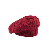 Red french beret Stock Photography