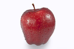 Red fresh an apple Royalty Free Stock Photo