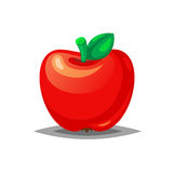 Red fresh apple icon Royalty Free Stock Photos