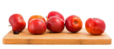 Red fresh apples Royalty Free Stock Images