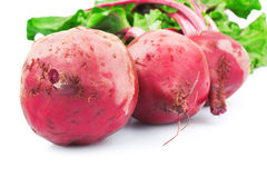 Red fresh beetroots Royalty Free Stock Photo