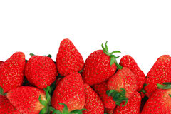 Red fresh strawberries Stock Photos