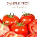 Red fresh tomato Royalty Free Stock Image