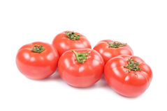 Red fresh tomatos Royalty Free Stock Images