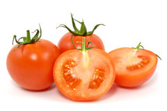 Red fresh tomatos Royalty Free Stock Photo