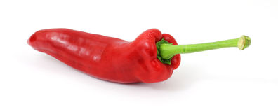 Red Fresno Pepper Stock Images