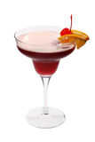 Red fruit cocktail Royalty Free Stock Photography