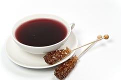 Red fruit tea Stock Photo