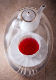 Red fruit tea Stock Photography
