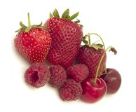 Red fruits Royalty Free Stock Image