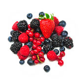 Red fruits Royalty Free Stock Photography