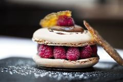 Appetizing macaroon Royalty Free Stock Images