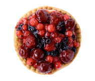 Red fruits pie Royalty Free Stock Image
