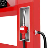 Red fuel pump nozzle Royalty Free Stock Photos
