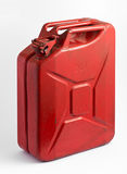 Red fuel tank or jerry can Stock Image