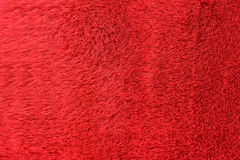 Red fur background Royalty Free Stock Photography