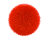 Free Red Fur Ball Royalty Free Stock Images - 31000309