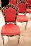 Red furniture Stock Photos