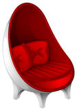 A red furniture Royalty Free Stock Photo